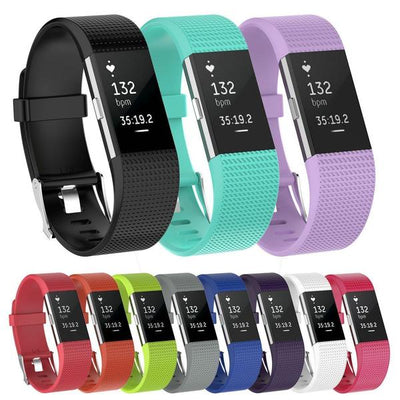Silicone Fitbit Charge 2 Bands - OzStraps ?id=5342696603699