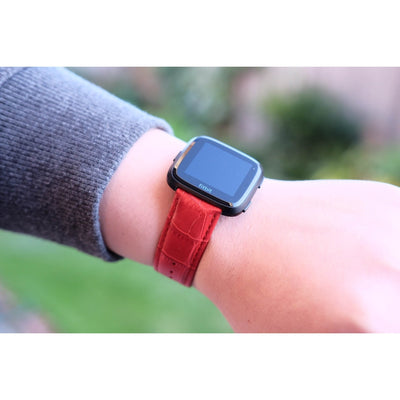Leather Fitbit Versa Band - OzStraps New Zealand