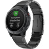 Black Ceramic Stainless Steel Garmin Fenix 5X Band - OzStraps New Zealand