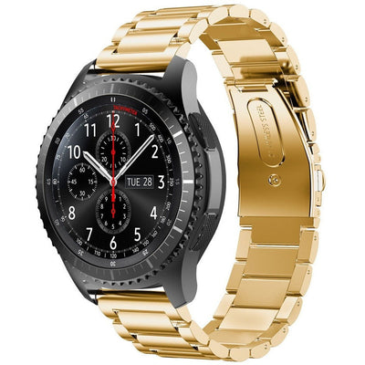 Gold Stainless Steel Samsung Gear S3 Band - OzStraps New Zealand