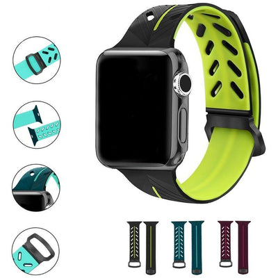 Gym Series Silicone Apple Watch Band - OzStraps