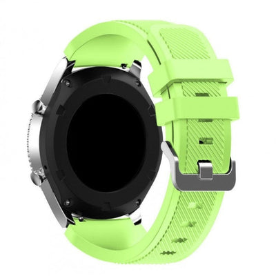 Lime Silicone Samsung Gear S3 Band - OzStraps New Zealand