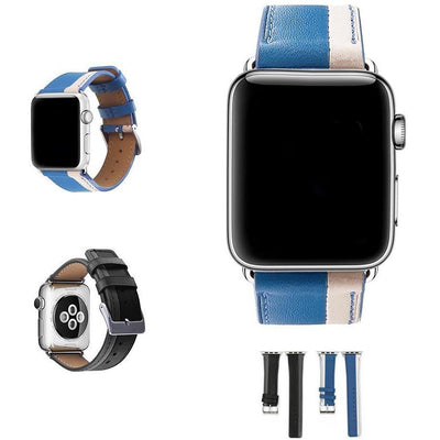 Parallel Leather Apple Watch Band - OzStraps New Zealand