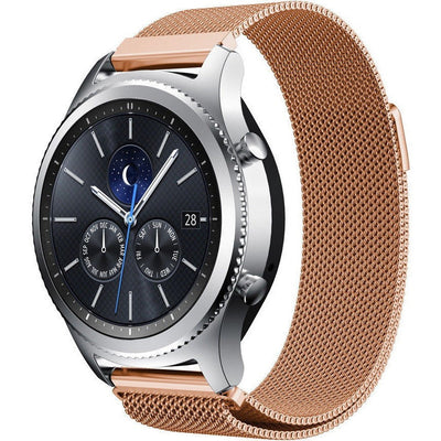 Rose Gold Milanese Loop Samsung Gear S3 Band - OzStraps New Zealand