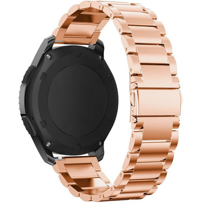 Rose Gold Stainless Steel Samsung Gear S3 Band - OzStraps New Zealand