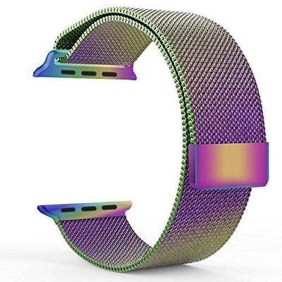 Pearlescent Milanese Loop Apple Watch Band