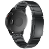 Black Ceramic Stainless Steel Garmin Fenix 5 / Fenix 6 Band - OzStraps New Zealand
