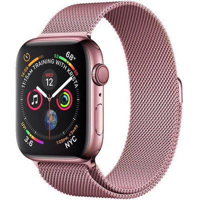 Rose Gold Milanese Loop Apple Watch Band - OzStraps New Zealand