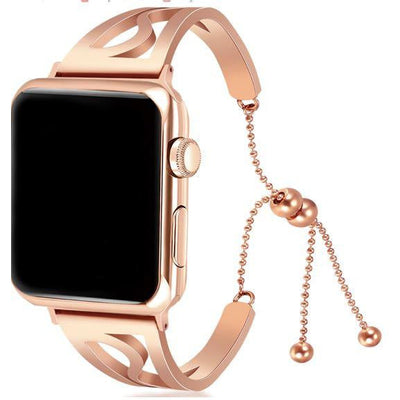 Clasp Stainless Steel Apple Watch Band