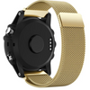 Gold Milanese Loop Garmin Fenix 5S Band - OzStraps New Zealand