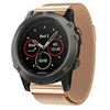 Rose Gold Milanese Loop Garmin Fenix 5X Band - OzStraps New Zealand