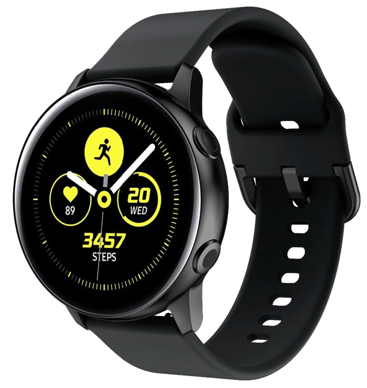 Silicone Samsung Galaxy Watch Active Band