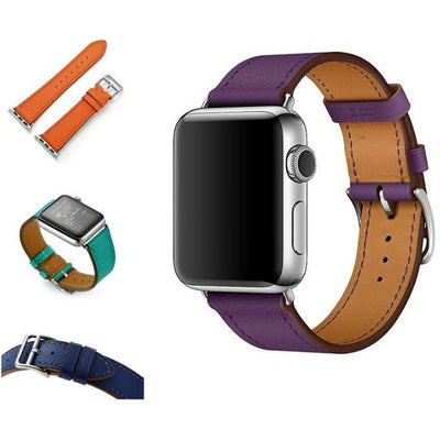 Single Tour Leather Apple Watch Band - OzStraps New Zealand