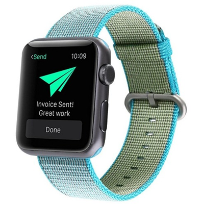 Woven Nylon Apple Watch Band - OzStraps New Zealand