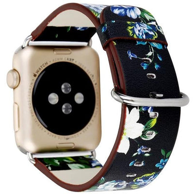 Floral Apple Watch Band - OzStraps New Zealand
