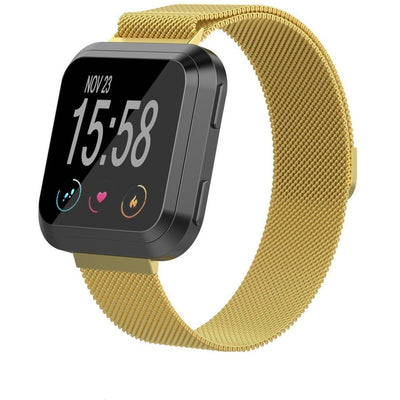Milanese Loop Fitbit Versa Band - OzStraps New Zealand