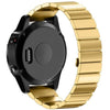 Gold Ceramic Stainless Steel Garmin Fenix 5 / Fenix 6 Band - OzStraps New Zealand