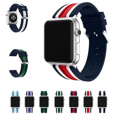 NATO Silicone Apple Watch Band - OzStraps New Zealand
