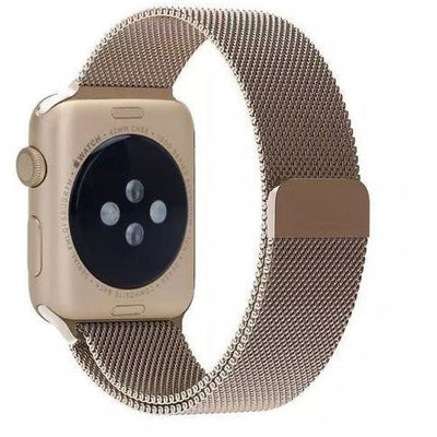 Vintage Gold Milanese Loop Apple Watch Band - OzStraps New Zealand