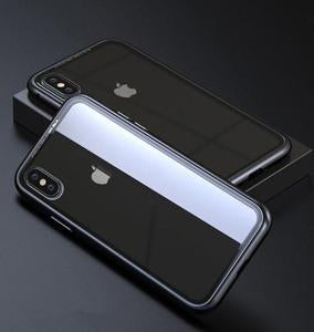 new concept 7618a ac46f iPhone XR Tempered Glass Magnetic Adsorption Metal Frame Case