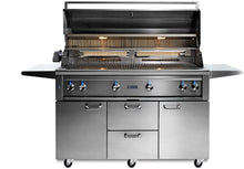"Load image into Gallery viewer, Lynx 54"" Freestanding Grill, 1 Trident w/ Rotisserie"