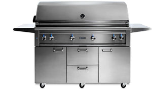 "Lynx 54"" Freestanding Grill, 1 Trident w/ Rotisserie"