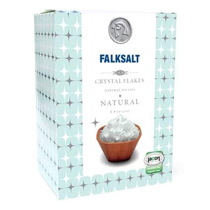 Falksalt Natural Sea Salt Flakes (8.8 oz)