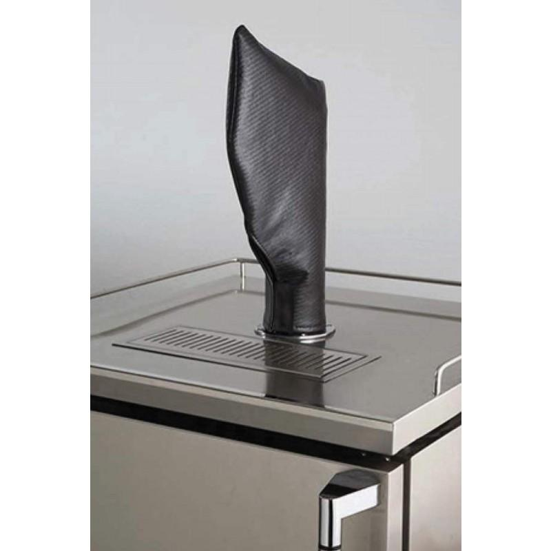 Lynx Carbon Fiber Vinyl Cover for Beverage Dispenser Tower/Tap Head