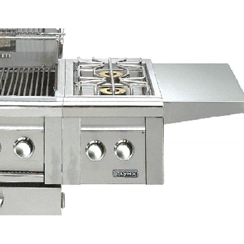 Lynx Cart Mounted Double Side Burner, Fits All Grill Sizes