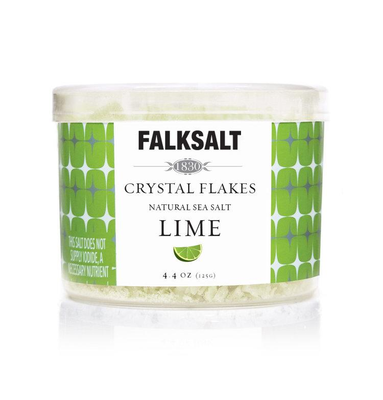 Falksalt Lime Sea Salt Flakes