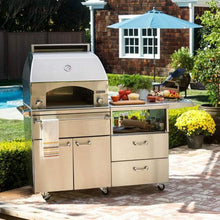 "Load image into Gallery viewer, Lynx Napoli Outdoor Oven & 54"" Mobile Kitchen Cart"