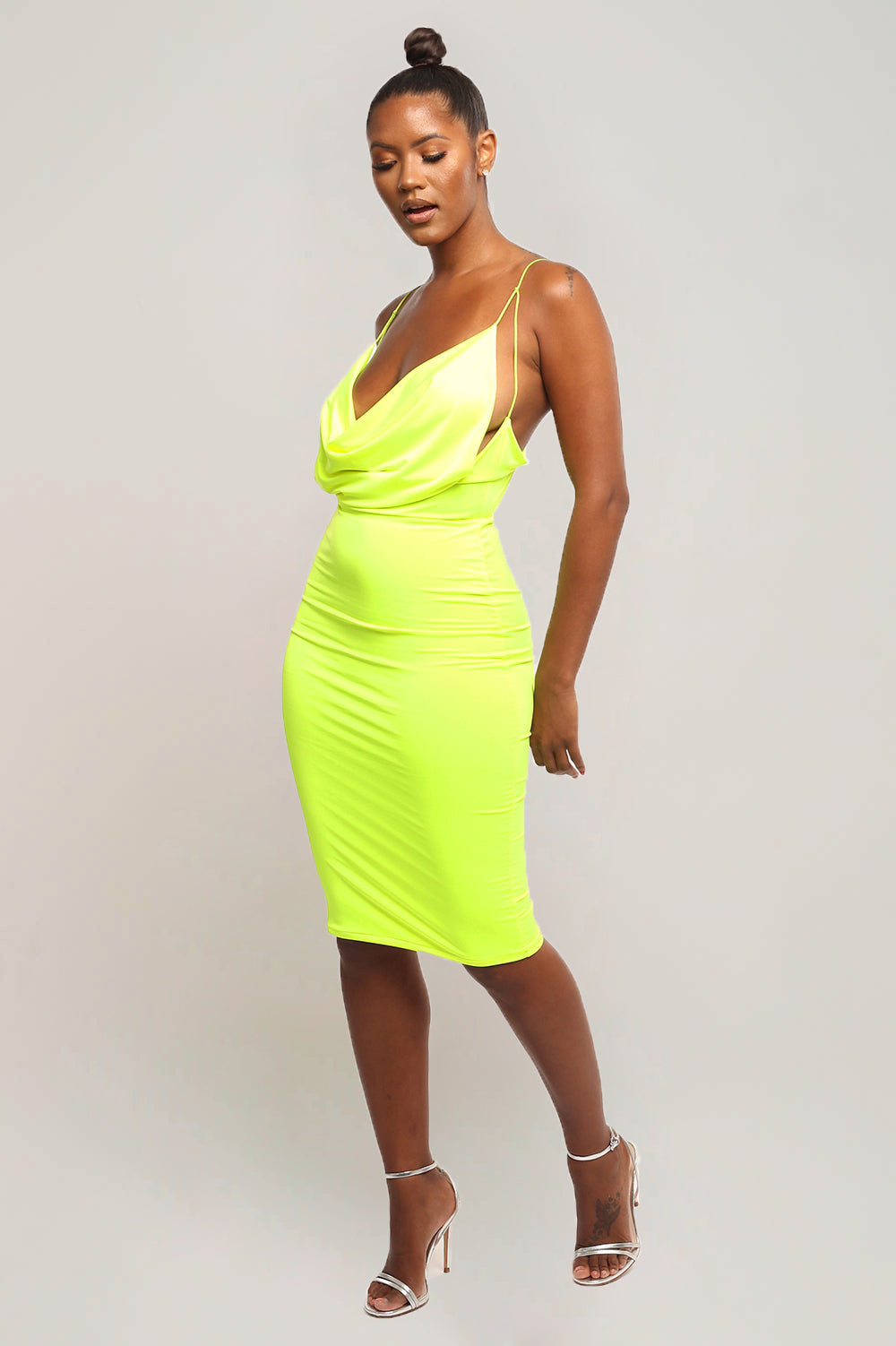 UTOPIA DRESS- Neon yellow