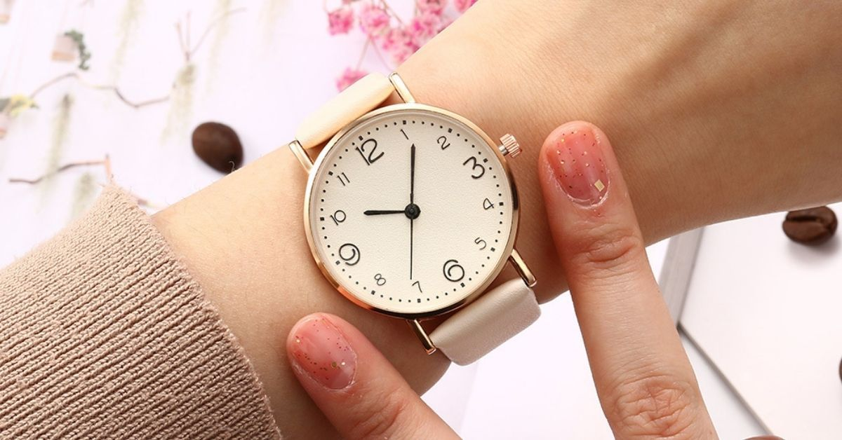 A Simple Leather Strap Ladies Watch A Must Have in Your Wardrobe | Watches & Crystals