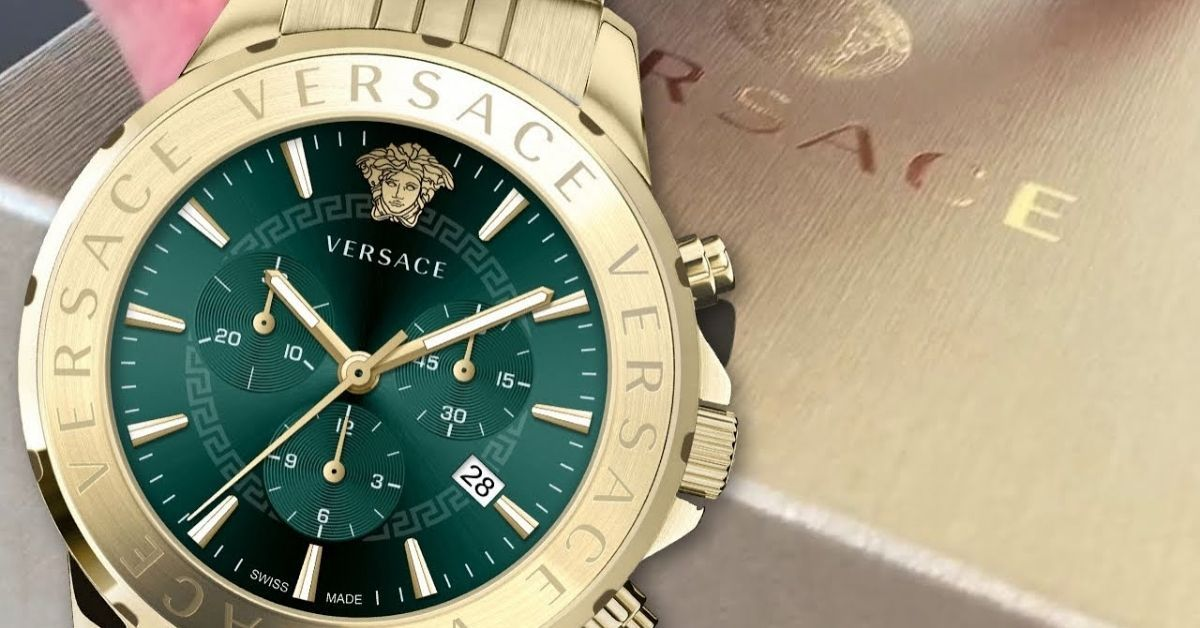 Shop for The Trendiest Versace Watches from The Comfort of Your Home | Watches & Crystals