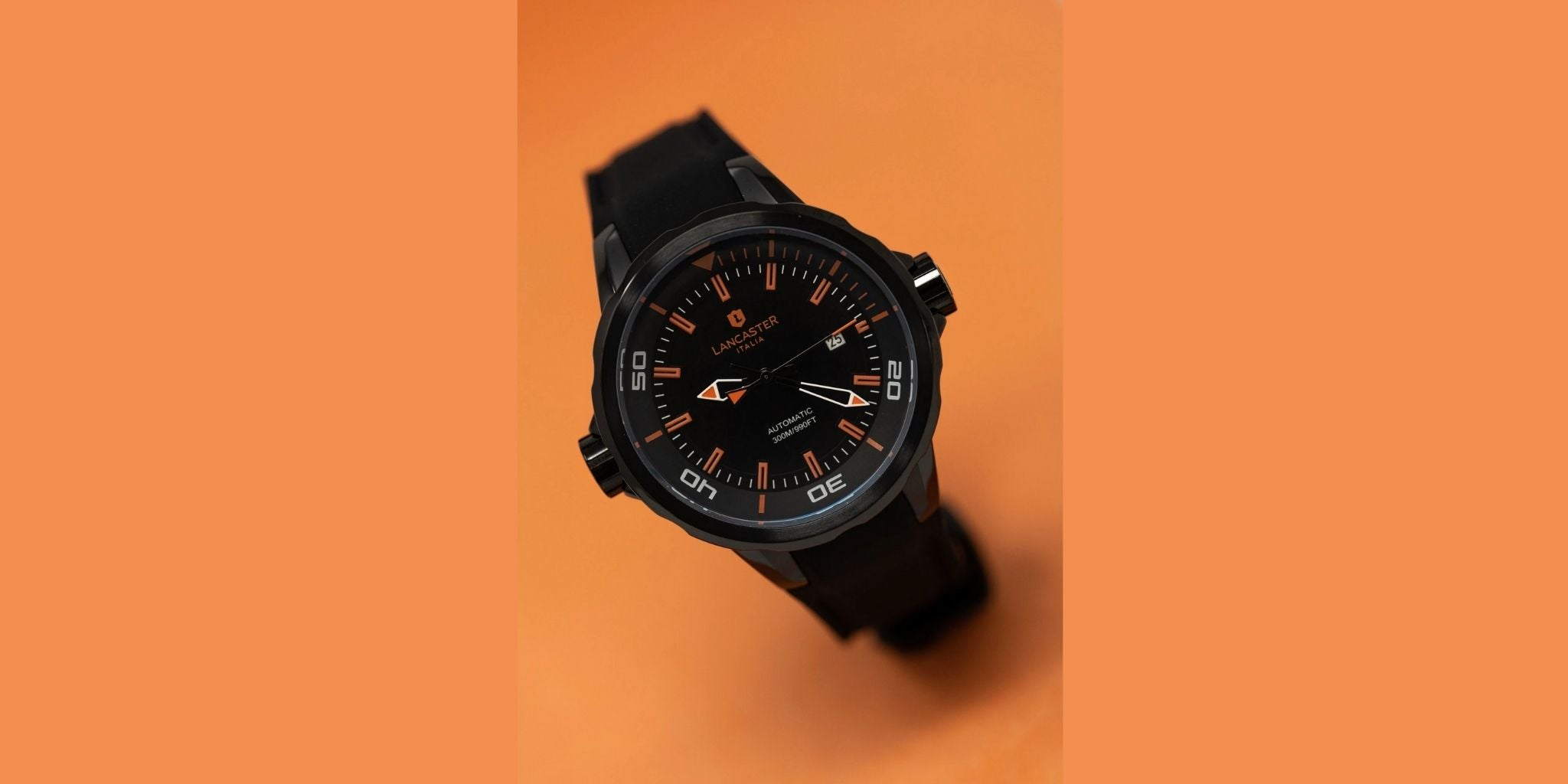 Lancaster Italy Space Shuttle Black PVD