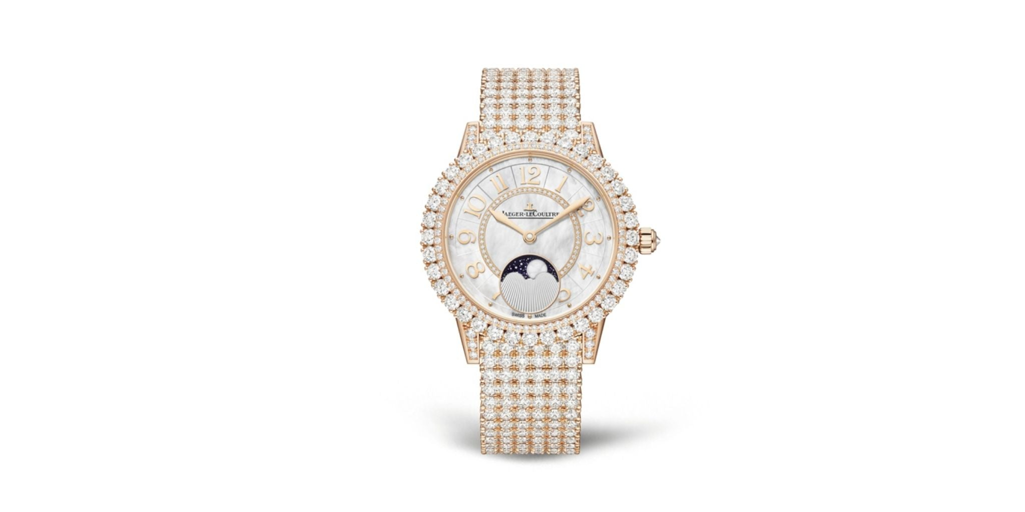 Diamond watches complete the trousseau