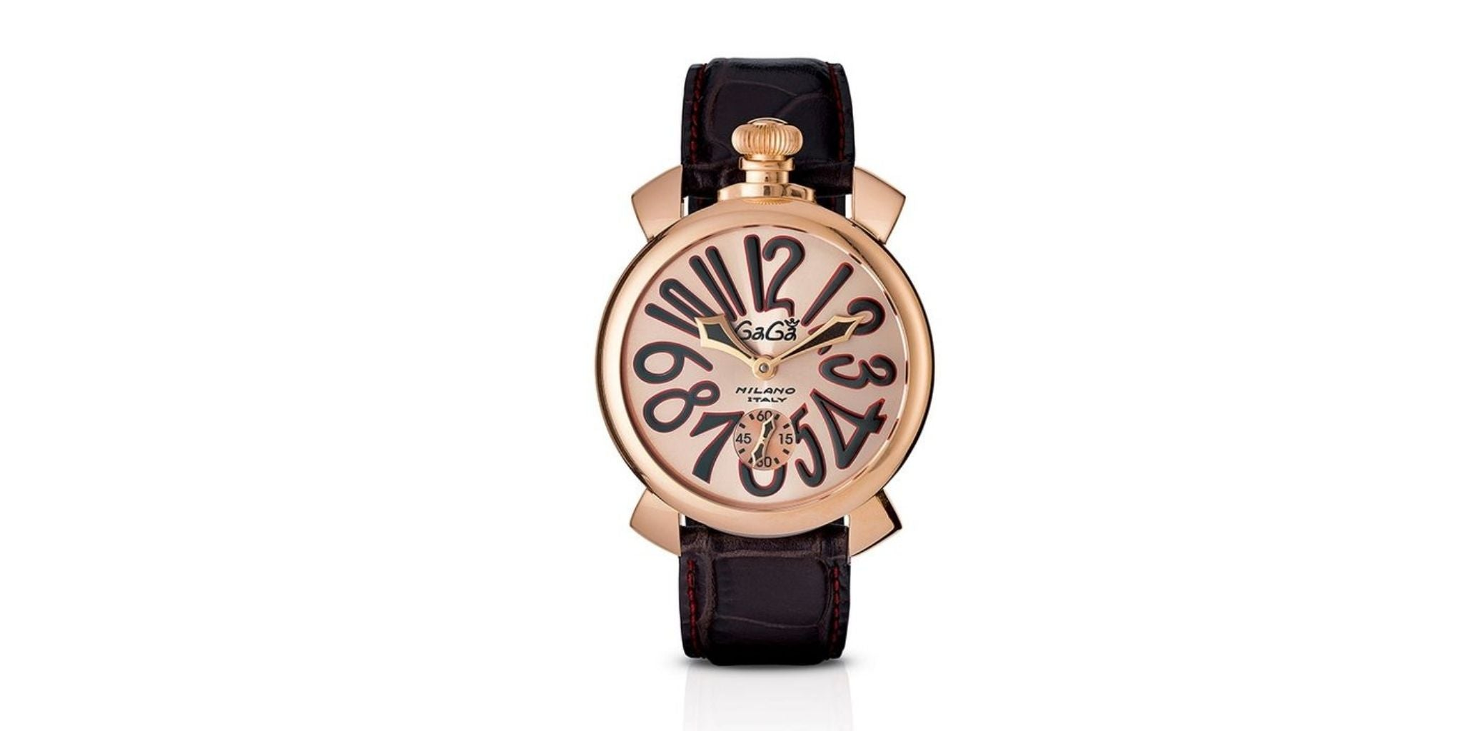 GaGà Milano Mechanical Watch Manuale Rose 48MM Rose Gold Plated 5011.11S, Best Watch Brands for Women, Best Watches For Women, Best Women's Watches, Best Women's Watches 2020, Ladies Watches, Quality Women's Watches,