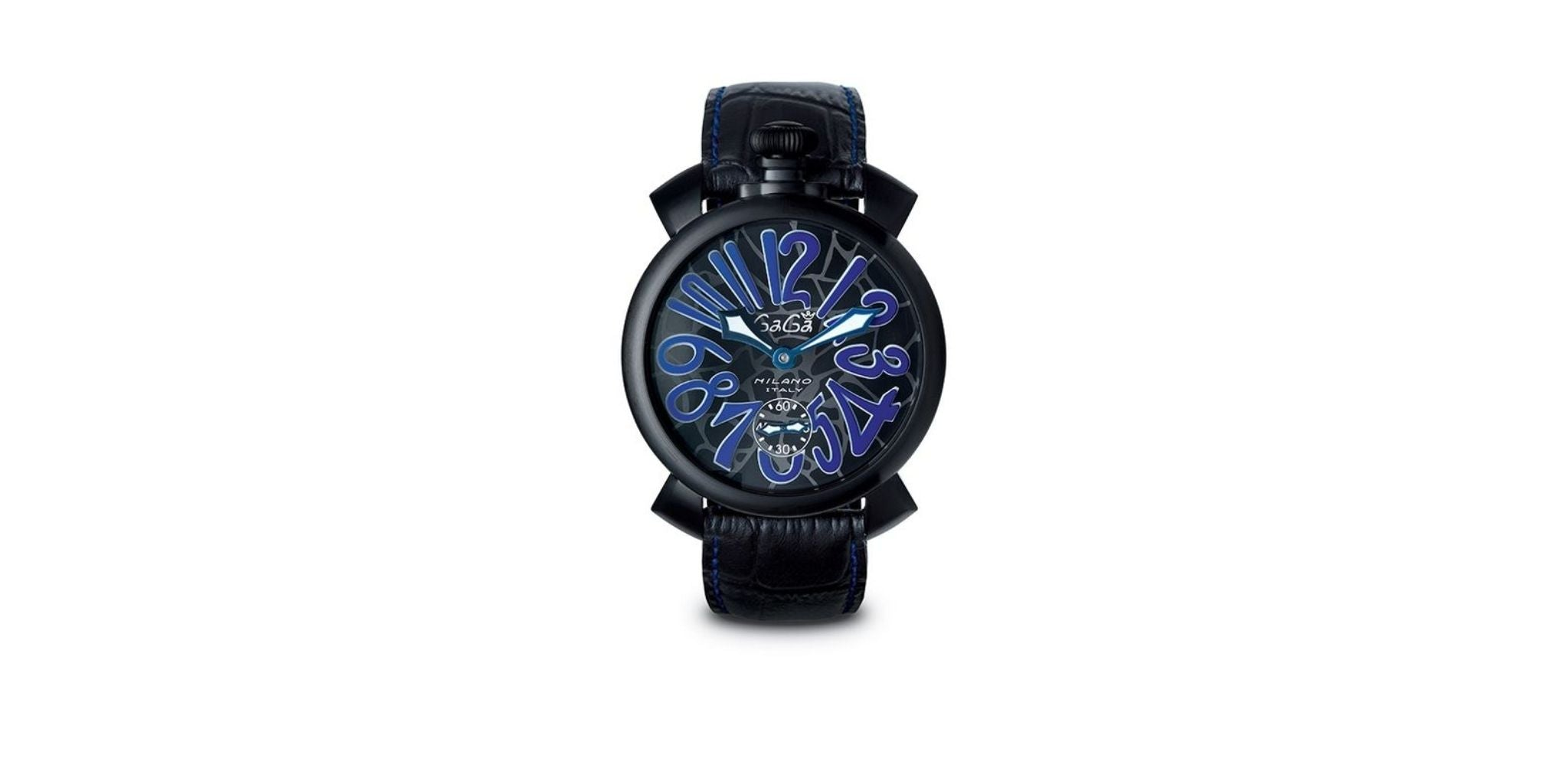 GaGa Milano Manuale 48 MM Mosaico Blue