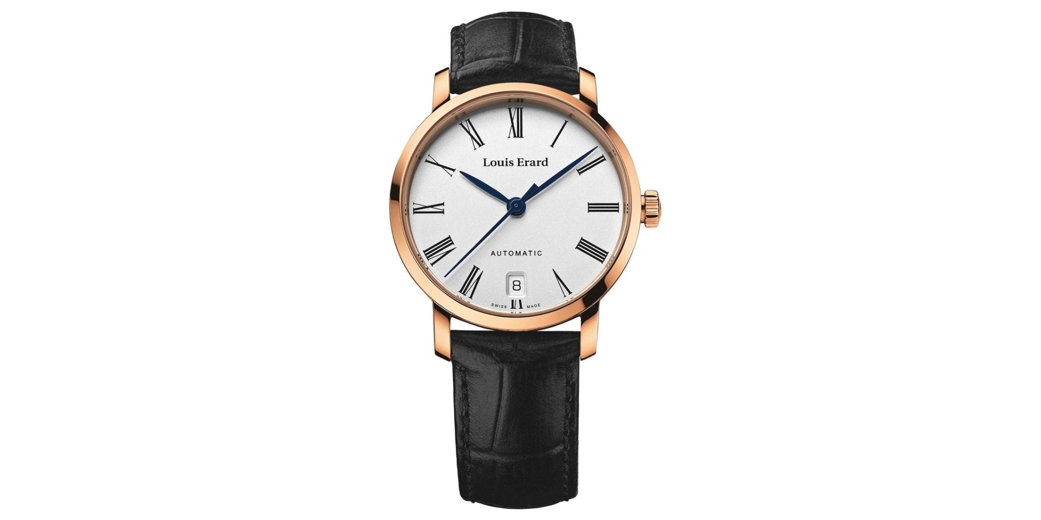 Louis Erard Excellence Date Leather Strap