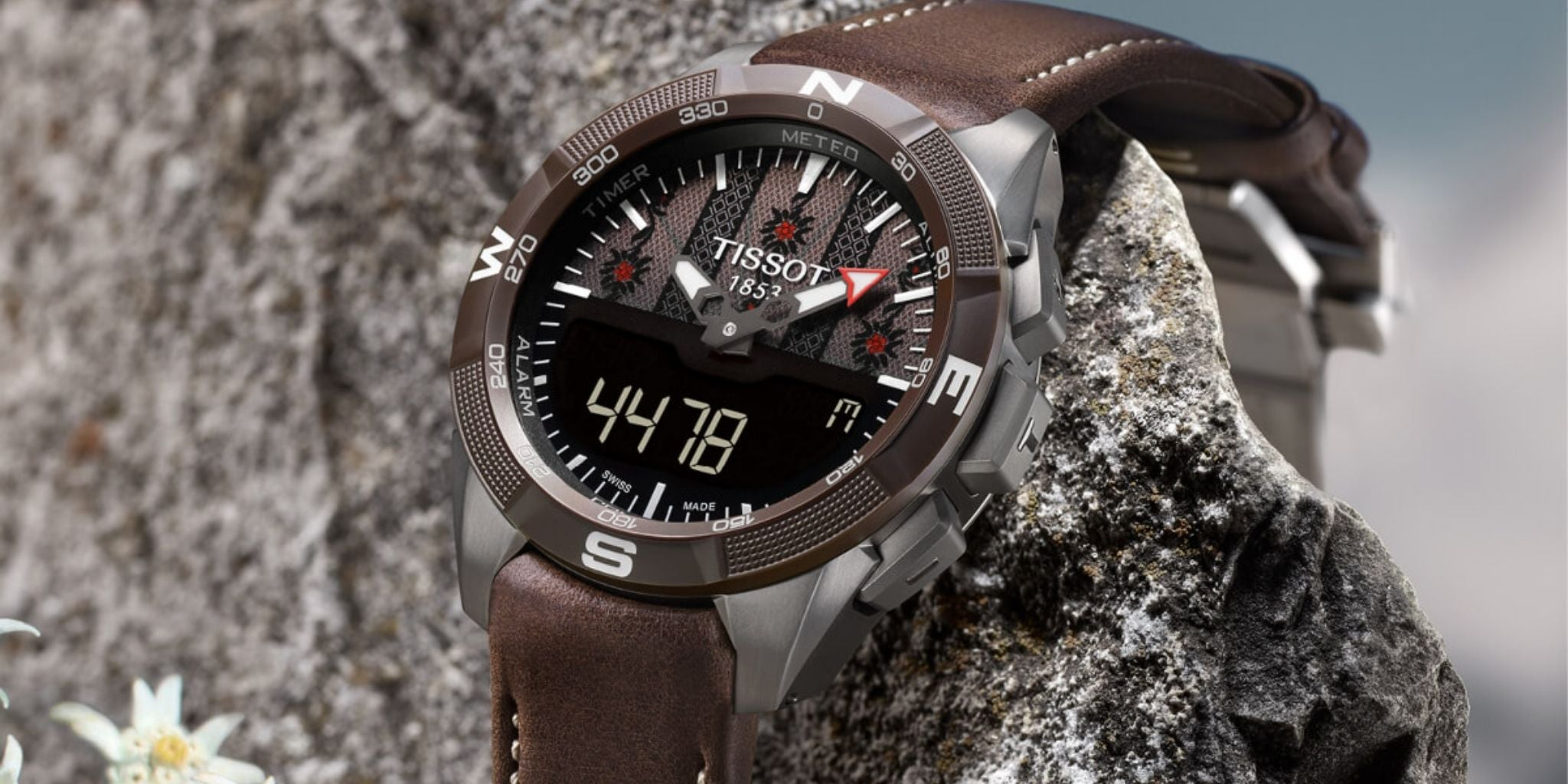 Tissot T-Touch Solar Chronograph Date Brown