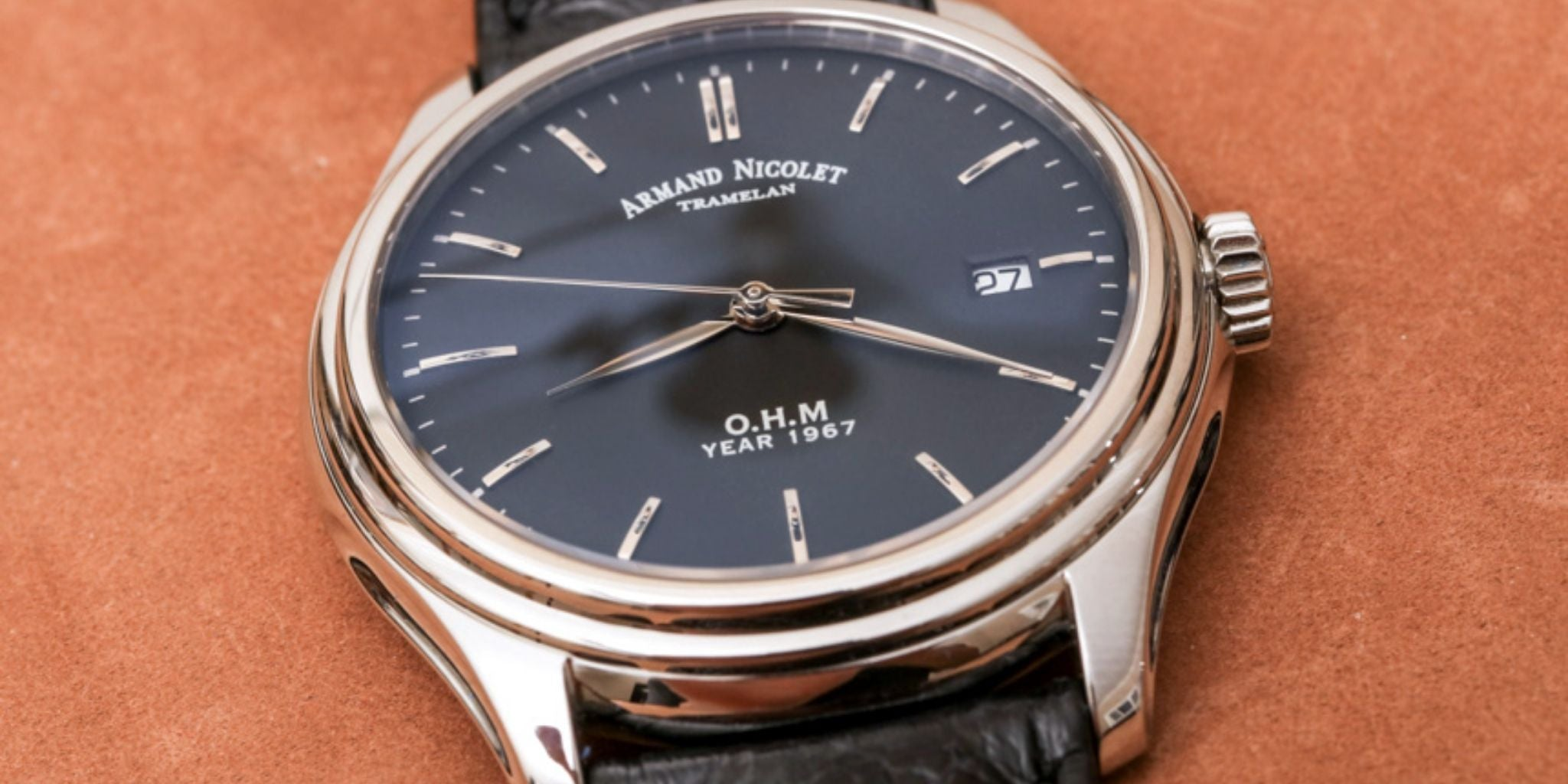 Armand Nicolet L15 O.H.M. Black Limited Edition