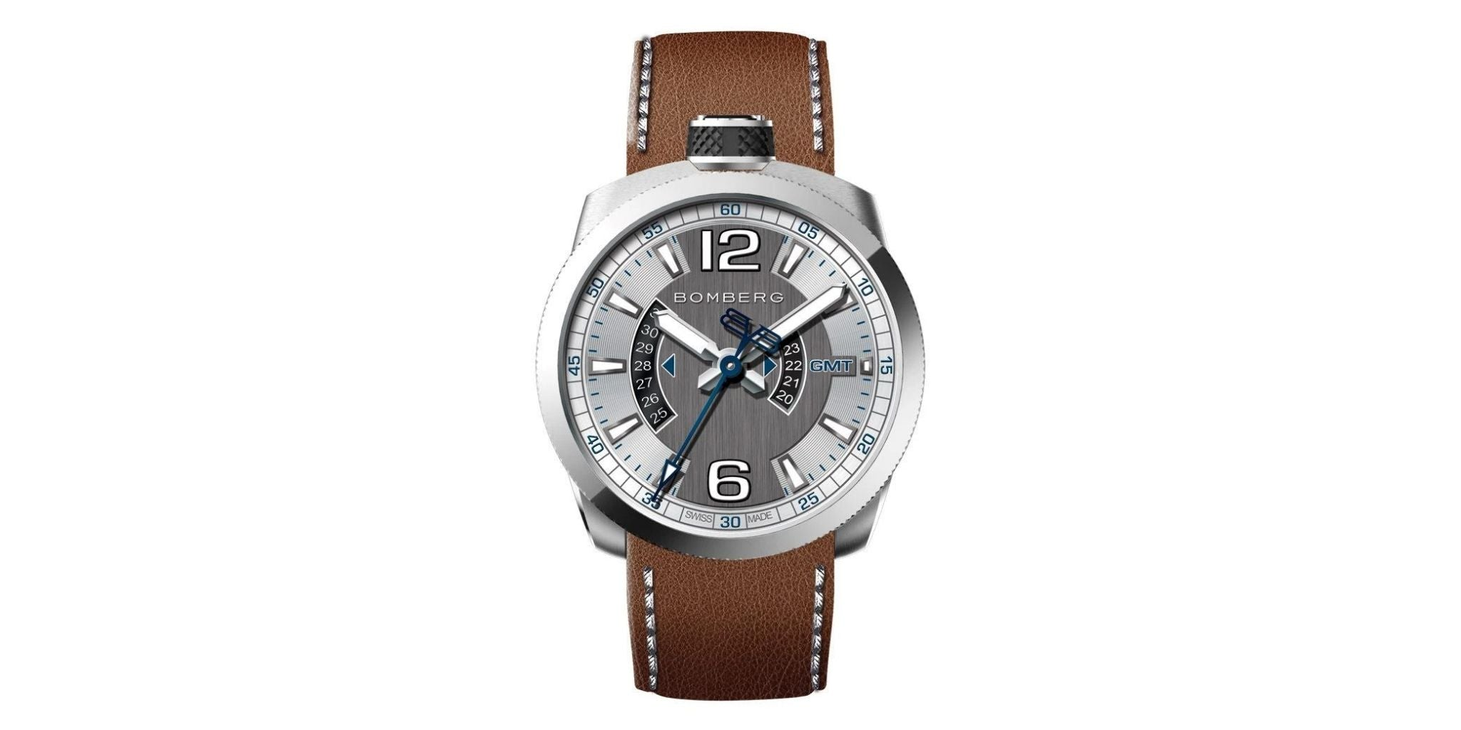 Bomberg BOLT-68 GMT Steel