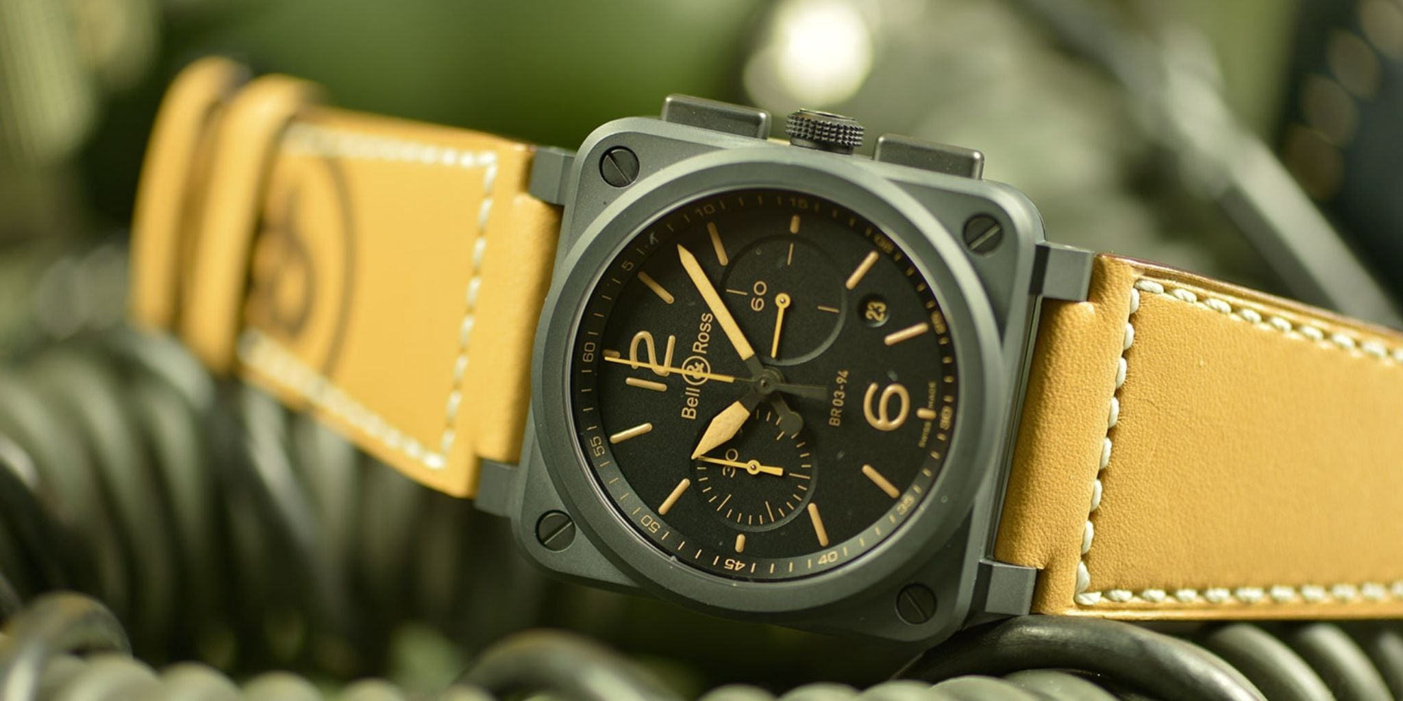 Bell & Ross BR 03-94 Heritage Chronograph