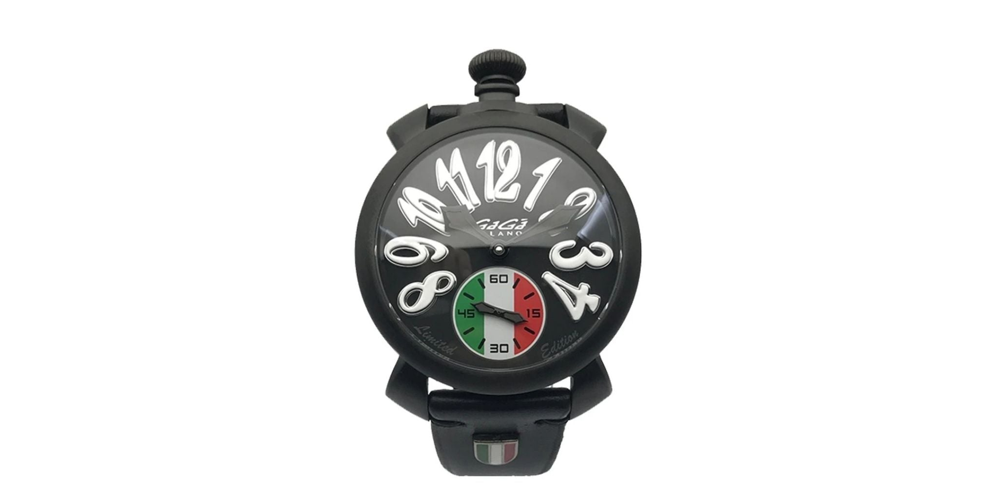 GaGà Milano Manuale 48MM Italy Black PVD Limited Edition