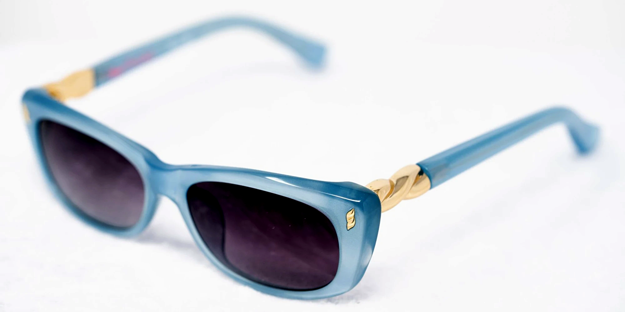 Agent Provocateur Sunglasses Rectangle Blue and Grey