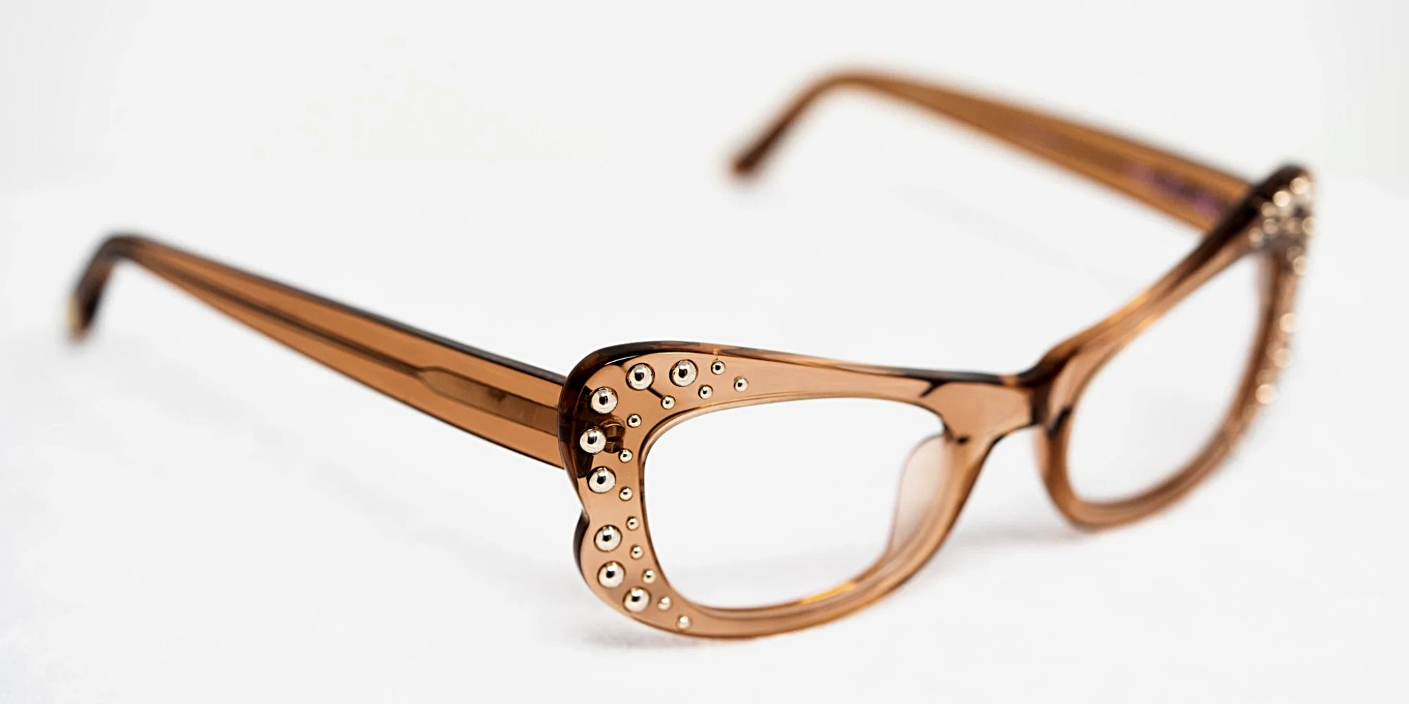 Agent Provocateur Eyeglasses Butterfly Brown