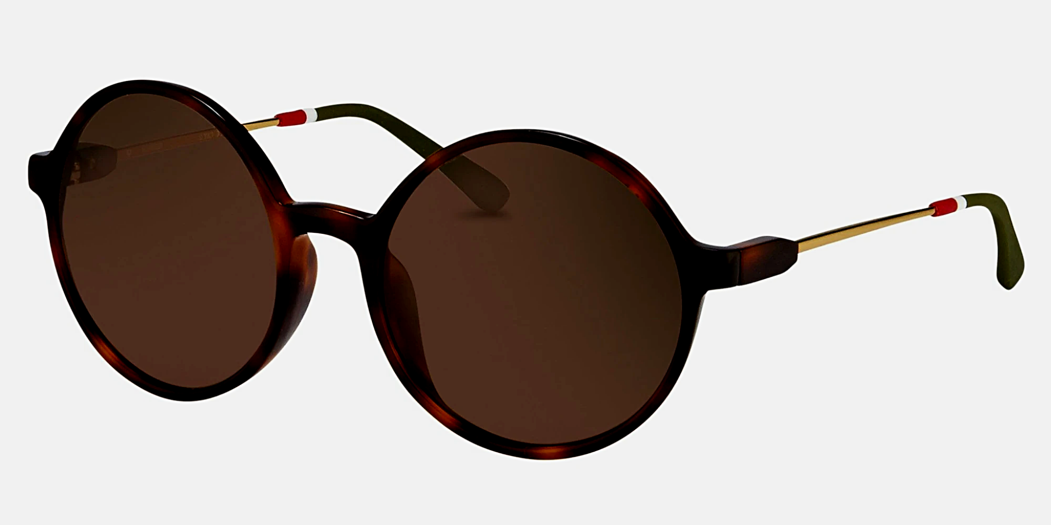Orlebar Brown Sunglasses Round Tortoise Shell and Brown