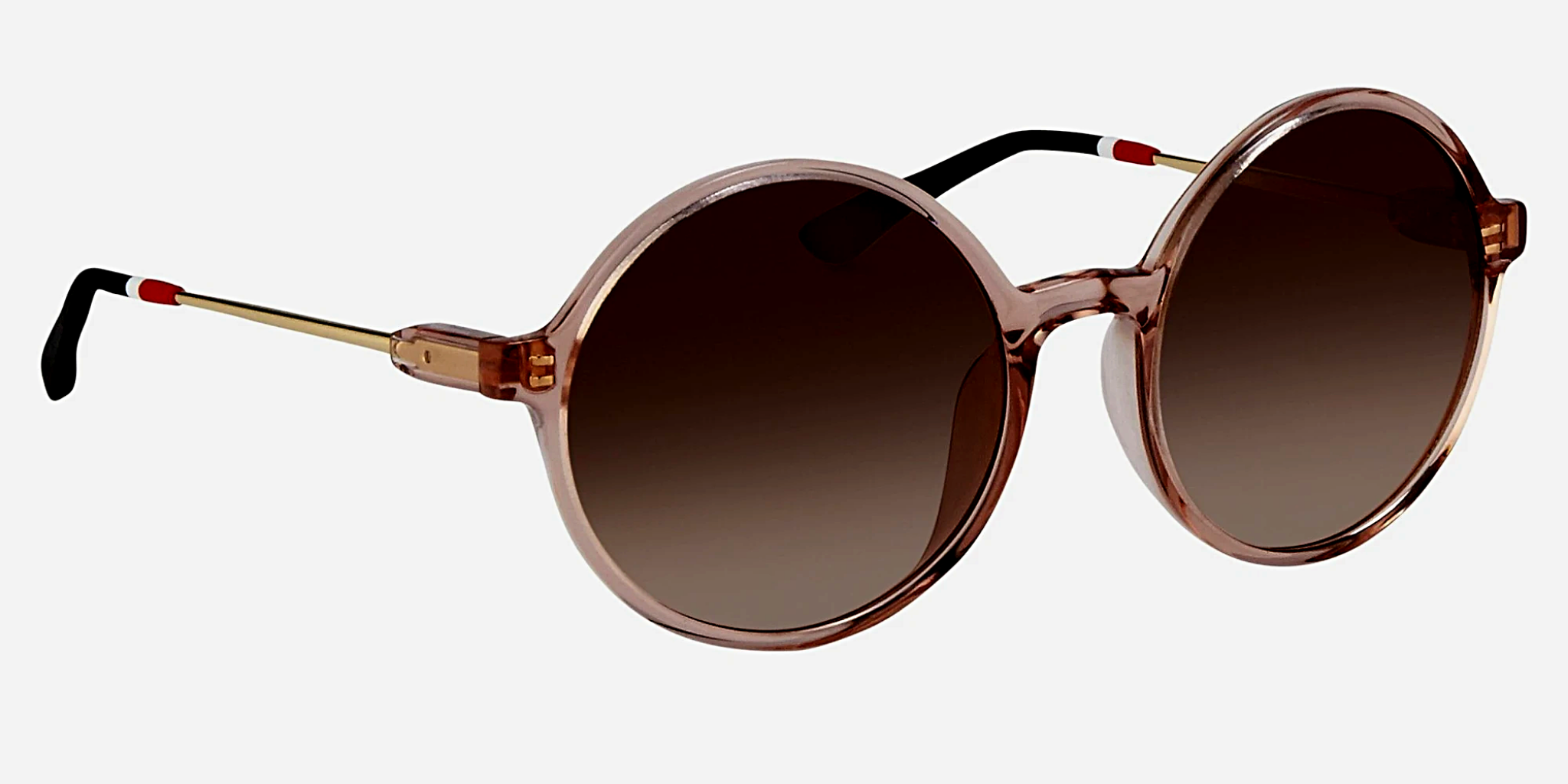 Orlebar Brown Sunglasses Round Fig Pink and Brown