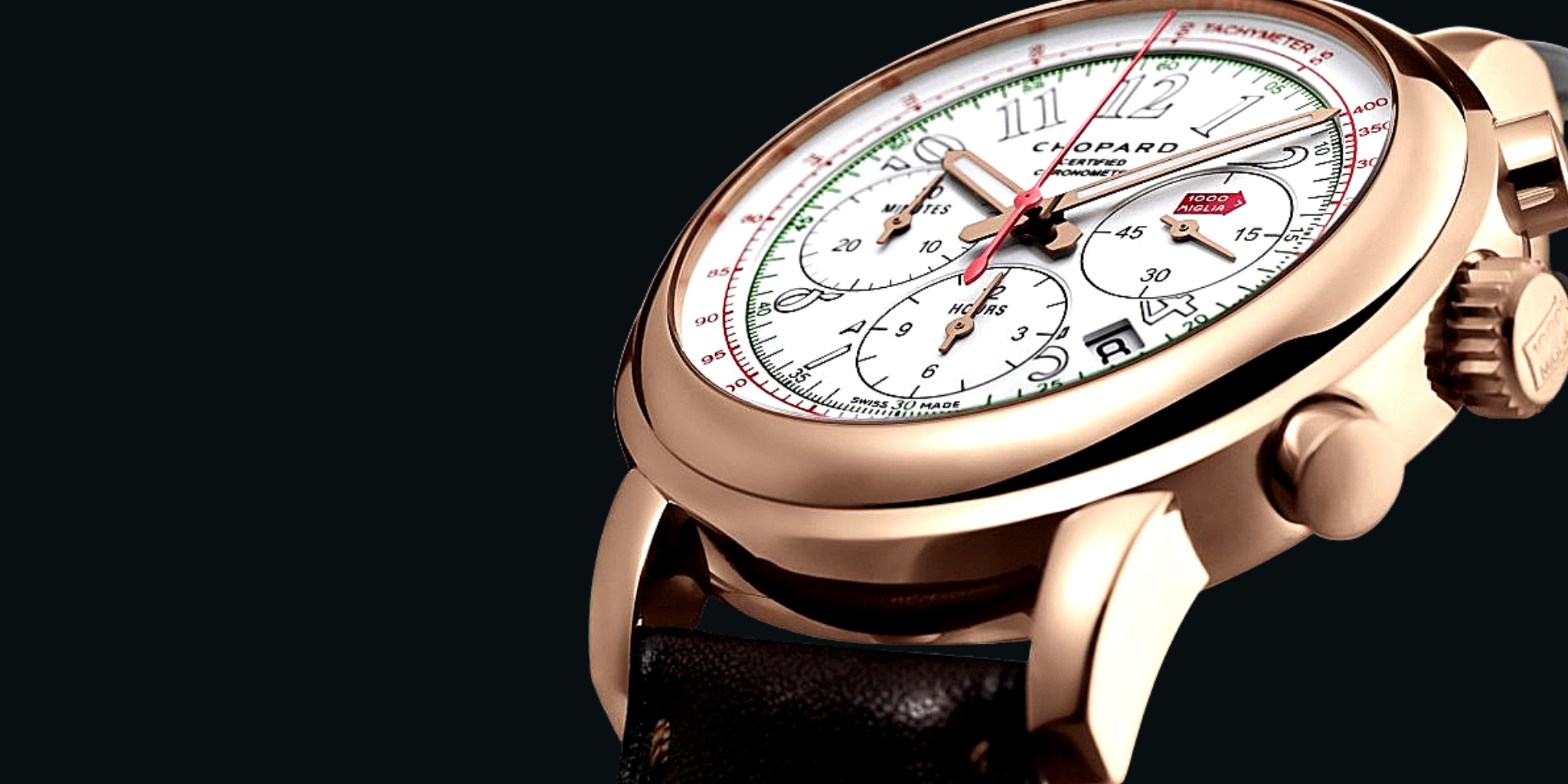 Chopard Mille Miglia Race Edition Chronograph Men's Watch Rose Gold