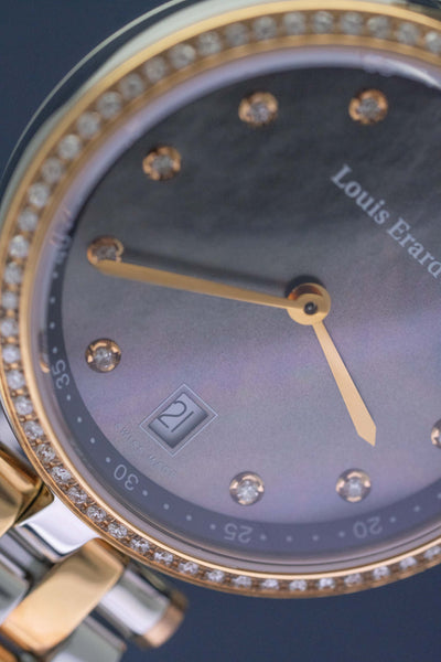 Louis Erard Romance Diamonds Date Two Tone